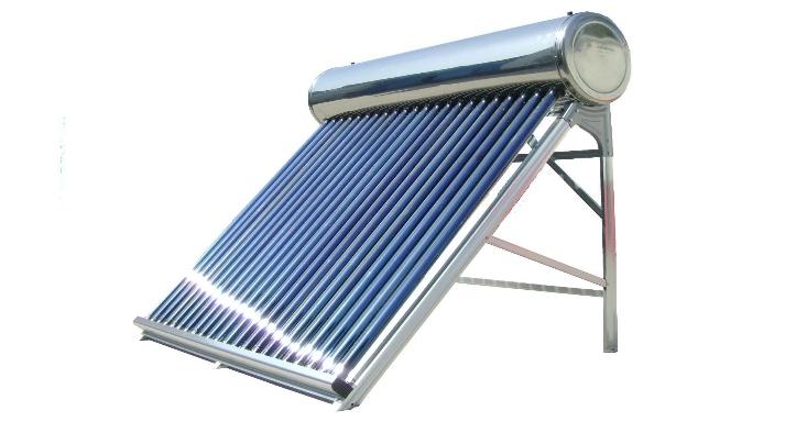 Tặng đường ống nước máy năng lượng mặt trời